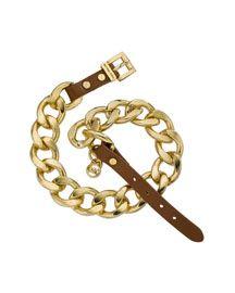 Michael Kors Double-Wrap Chain Bracelet, Golden                                                                                                                                                                             145.00