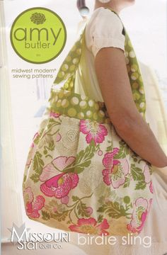 Birdie Sling Tote Pattern from Missouri Star Quilt Co
