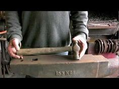 ▶ More Blacksmithing basics. - YouTube