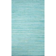 Handmade Casual Solid Pattern Blue radiance/ Blue radiance (4' x 6') Area Rug - Overstock Shopping - Great Deals on 3x5 - 4x6 Rugs