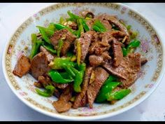 Chinese Pork Liver Fried Chilli