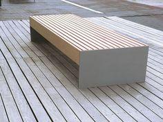Bank ohne Rückenlehne BLOCQ by mmcité 1 | Design David Karásek, Radek Hegmon