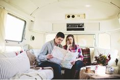 An Airstream honeymoon