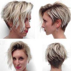 Idées Coupe cheveux Pour Femme  2017 / 2018   4 longues blondes élevées en duel