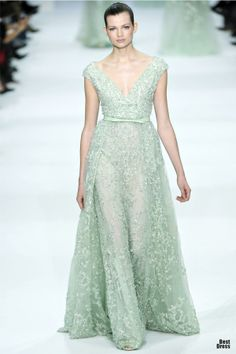 Elie Saab HOUTE COUTURE SPRING/SUMMER 2012 skirt needs additional lining