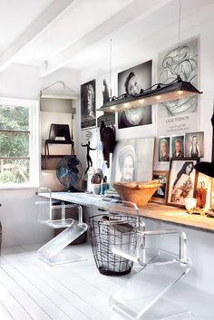 Marie Olsson Nylander, Dessert Modernism. #interior #inspiration #white #workspace