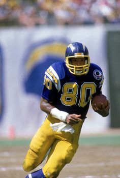 Kellen Winslow (TE) Chargers - First Year: 1979 - 7 seasons - Drafted: Round 1, Pick 13