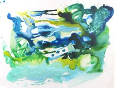 A Deluge by Ellen Orseck (Ink on acetate)