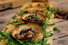 7gramas de ternura: Tarteletes de Pão com Queijo de Cabra e Compota de Cebola