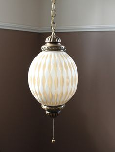 vintage swag lamp hanging globe light pendant boho retro
