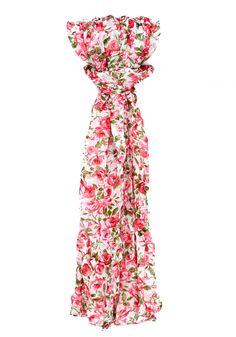Echarpes e Lenços com estampas florais são ícones no estilo Romântico e nada mais delicado que completar um look básico com um toque florido, além do ar romântico dá vitalidade ao visual!