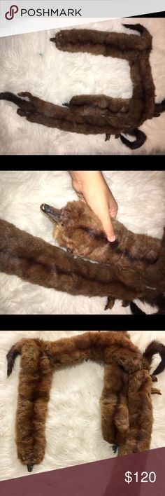 Unique real mink fur coat shawl 👑👠 Real mink scarf in good used condition. Used as a prop for a few shoots. Offers welcome was purchase for $200 out of a high end consignment shop. Listing under Chanel for exposure purposes. As seen on Kanye West and Kim Kardashian. CHANEL Jackets & Coats