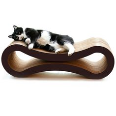Found it at Wayfair - Ultimate Cat Scratcher Lounge & Bed