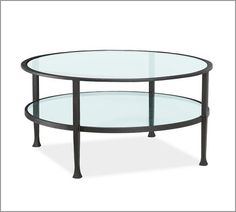 similar to my oval 2 level glass & iron coffee table