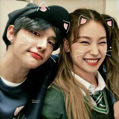 Kpop Couples, Like A Cat, Twins, Siblings, Twin Sisters, Ikon, Taehyung, Korean Fashion, Bff