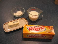 Velveeta base cheese sauce.