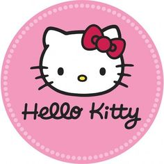 Buy the Hello Kitty Round Edible Icing Image Hello Kitty Crafts, Hello Kitty Art, Hello Kitty Themes, Hello Kitty Birthday Theme, Decoracion Hello Kitty, Images Hello Kitty, Anniversaire Hello Kitty, Peppa Pig Party Supplies, Hello Kitty Cupcakes