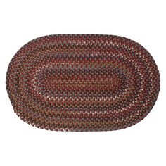 Colonial Mills Cape Beth Braided Rug, Red