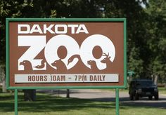 Bismarck, ND the Dakota Zoo..because there really is literally NOTHING else to do in ND. good god.