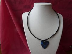 Mens/Ladies guitar pick choker by GilliansJewellryBox on Etsy, $7.50