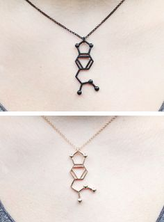 MDMA Molecule Necklace (2 colours)
