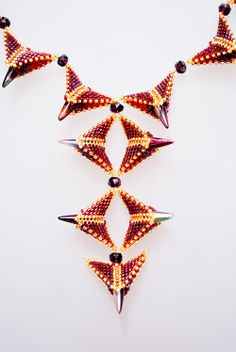 Bead&Button Show: Bead&Button Show Workshops & Classes: Monday June 2, 2014: B141497 Immortalis Necklace