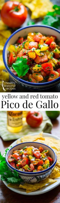 Blog post at Healthy Seasonal Recipes : Today I am going to talk a bit about what to do with yellow tomatoes and share an easy and incredibly tasty recipe for yellow and red tomato[..]