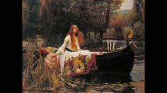 John William Waterhouse The Lady of Shalott painting is shipped worldwide,including stretched canvas and framed art.This John William Waterhouse The Lady of Shalott painting is available at custom size. John William Waterhouse, Pre Raphaelite Paintings, The Lady Of Shalott, Pre Raphaelite Brotherhood, John Everett Millais, Renoir, Love Art, Oeuvre D'art, Les Oeuvres