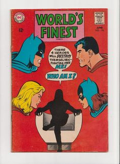 Vintage 1968 World's Finest Comics June  176 by michiegoodsny