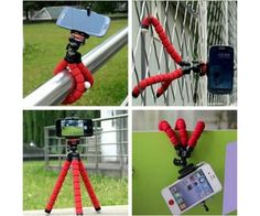 wholesale 1 Car Phone Holder Flexible Octopus Tripod Bracket Selfie Stand Mount Monopod for iPhone 4 5 6 Samsung LG Android pau gopro Iphone Mobile Phone, Samsung Mobile, Mobile Phones, Iphone 4s, Samsung Camera, Iphone Camera, Nokia Camera, Apple Iphone, Gopro