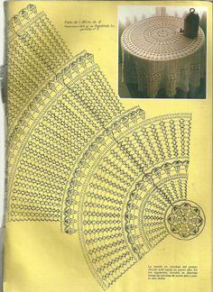 Best 12 Мобильный LiveInternet Muestras y Motivos Especial Panos 1 Crochet Table Topper, Crochet Tablecloth Pattern, Crochet Doily Diagram, Crochet Stitches Patterns, Crochet Chart, Thread Crochet, Filet Crochet, Crochet Doilies, Crochet Circles