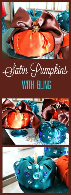 Diy Fabric Pumpkins,