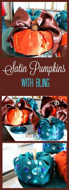 Diy Fabric Pumpkins,