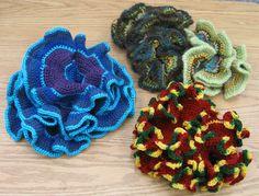 Hyperbolic crochet--looks fun and interesting!