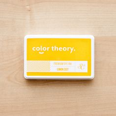 Picture of Color Theory Ink Pad - Lemon Zest