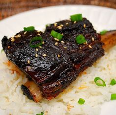 Korean Style Short Ribs (Crockpot) by ItsJoelen, via Flickr