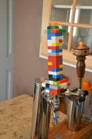 Tap handles Lego