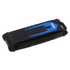 Kingston Digital HyperX Fury 32GB USB 3.0 HXF30 Black-Blue   Μόνο 23,66€ !!  #eldargr #flashDrives #flashSticks #USBdrives #Kingston #DataTraveler