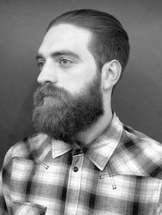On Thursday we told you about 100 Beards and keeping with the theme, here is a an exemplary example on client William - haircut and beard trim by Jacob.