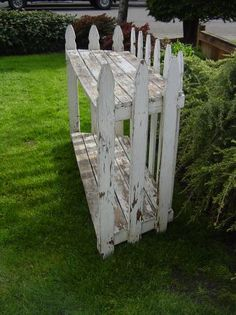 up cycle old fence | for plants indoor or out