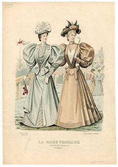 1893-1894, Plate 085 :: Costume Institute Fashion Plates