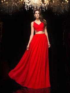 2017 Two-Piece Prom Dresses!