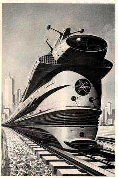 Atomic trains - still not quite yet.
