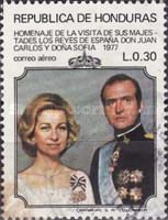 [Airmail - Visit of King and Queen of Spain, tipo LL] - 1977