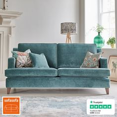off Great British made sofas, chairs and ottomans. 21 day in-home trial, 5 year frame warranty. Open Plan Kitchen Living Room, Decor Home Living Room, Coastal Living Rooms, Living Room Grey, Home And Living, Living Room Designs, Home Decor, Room Interior, Interior Design