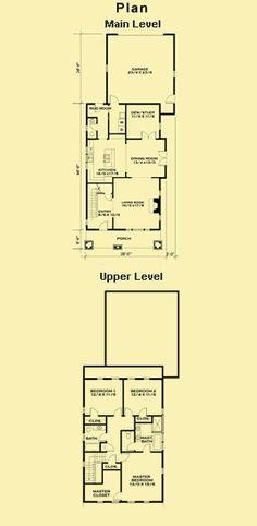 Bungalow Floor Plans, Small Craftsman House Plans & Simple Floor Plans