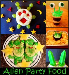 Alien Party Food and Snack Ideas