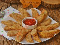 Fırında Galeta Unlu Çıtır Patates Resimli Tarifi - Yemek Tarifleri