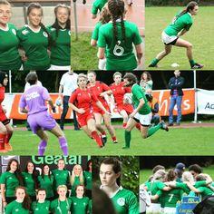 So proud of our High School girls in green - Ireland Under-18 Sevens Girls squad #rugbyforeveryone #sportsstars #hsd