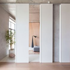 Architecture studio designed this edgy apartment, located in the downtown area of Moscow. The general concept of this apartment was to b Shop Interiors, Office Interiors, Modern Japanese Interior, Small Apartment Design, Interior Architecture, Interior Design, Apartment Renovation, Asian Home Decor, Commercial Interiors